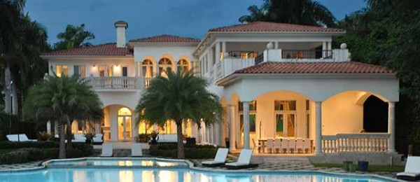 Usa Miami Wonderful Villa With Private Jetty